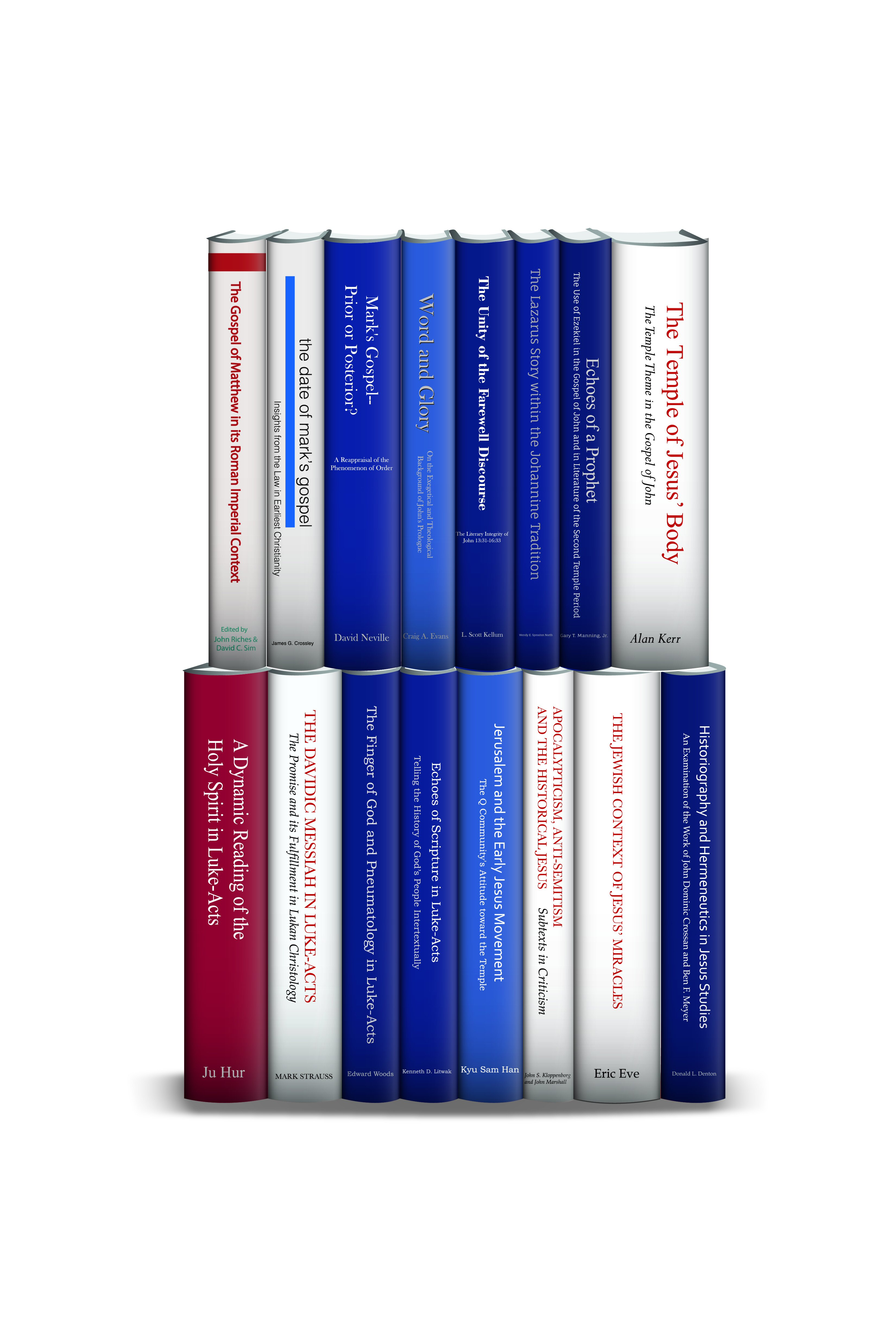 Library of NT Studies: JSNTS on the Gospels and Acts (16 vols.)