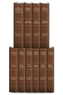 Keil and Delitzsch Commentary on the Old Testament (COT) (10 vols.)