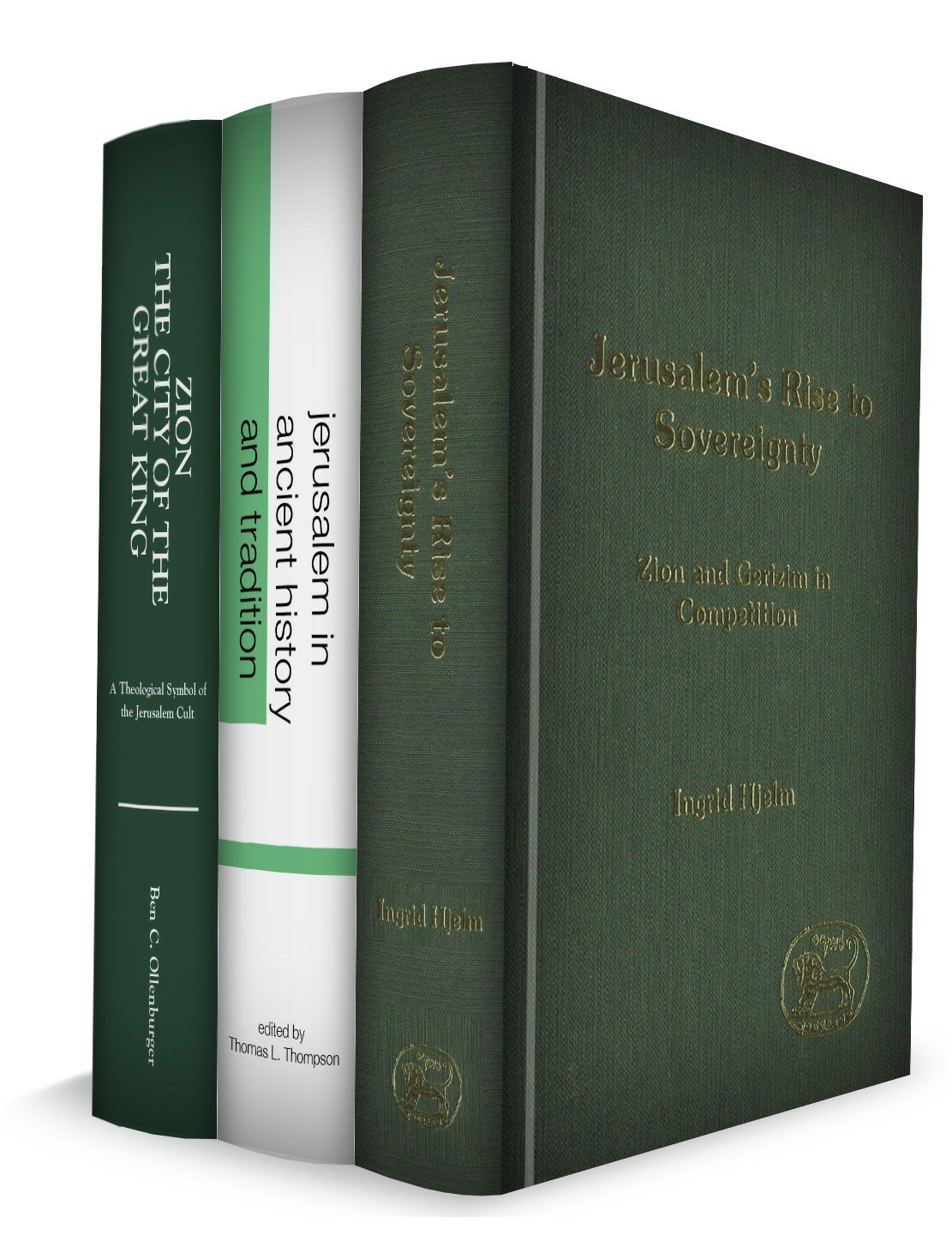 History of Jerusalem Collection (3 vols.)