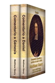 Comentarios de Matthew Henry a Génesis y Daniel (2 vols)